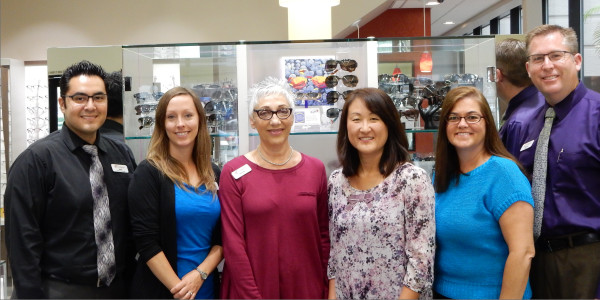 Irvine eyecare optician staff