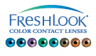 CIBA Vision Freshlook color contact lenses