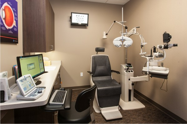 high-tech exam room