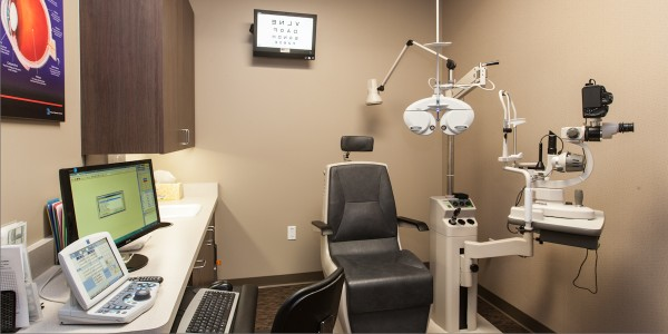 our exam rooms are high tech and computerized