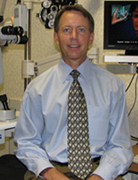 Doctor Christopher Likens, OD, founded Woodbridge Optometry with eye doctor Nancy Wilson in 1985