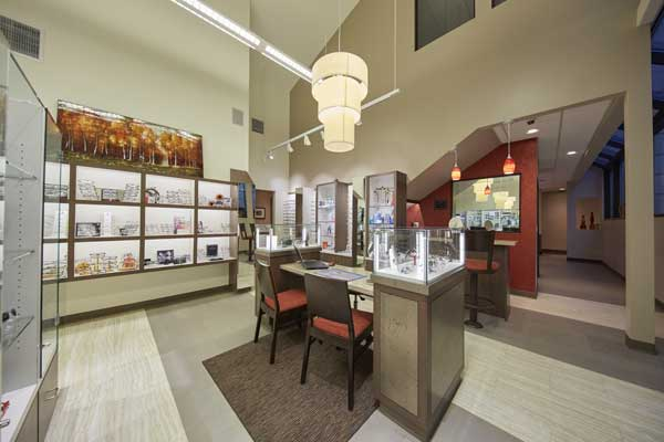 Woodbridge Optometry eyewear collection eyeglass store
