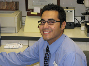 John Zamarripa is an optometric technician at Woodbridge Optometry in Irvine