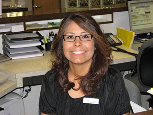 Julie Davis is our insurance biller and manages our front desk at Woodbridge Optometry