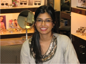 Mehar Alvi is an optometric technician at Woodbridge Optometry in Irvine