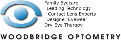 Woodbridge Optometry eyecare with family eyecare, leading technology, contact lens experts, designer eyewear, and dry eye therapy